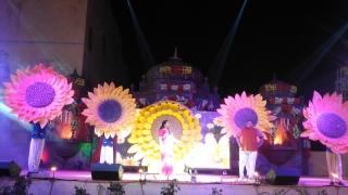 dance props sun flower theme