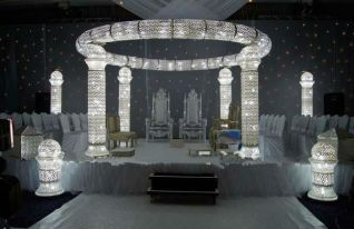 crystal latest wedding stages