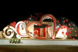 Iron Heart Theme Welcome Gate